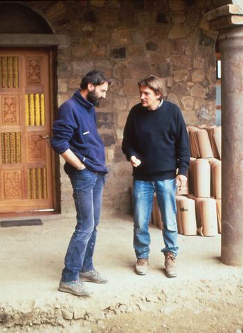 Daniele con Giorgio Nonni